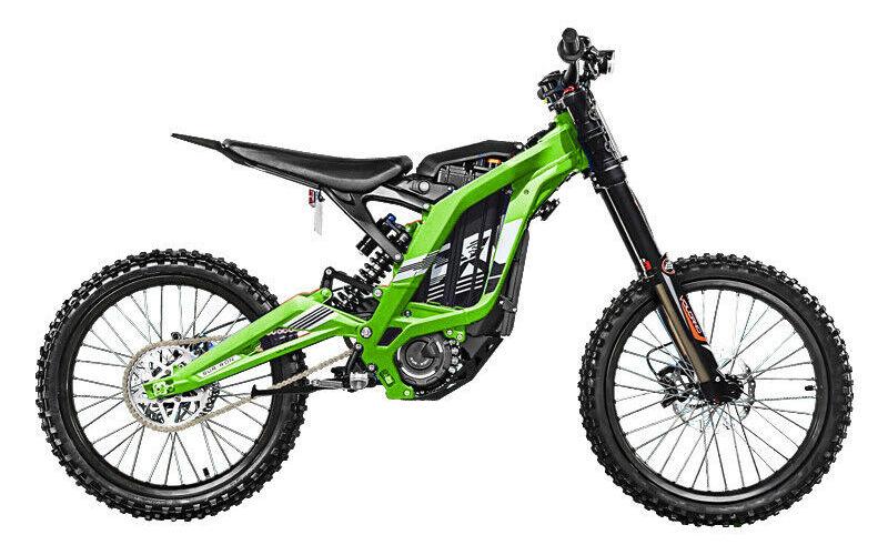 motocross elettrico verde